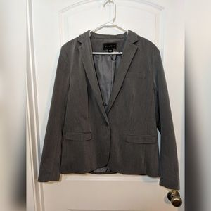 Light gray blazer